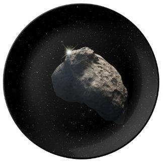 Smallest Kuiper Belt Object Porcelain Plates