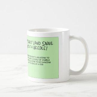 Smallest snail coffee mug