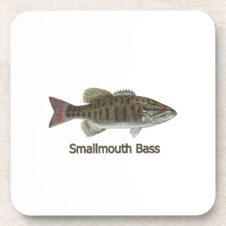 Smallmouth Bass Beverage Coaster