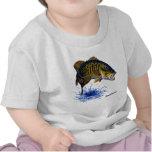 Smallmouth Bass leaping Shirts