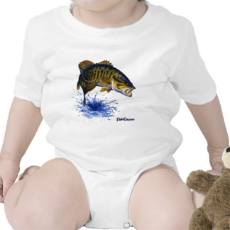 Smallmouth Bass leaping T Shirts