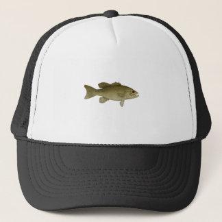 Smallmouth Bass (red eye illustration) Trucker Hat