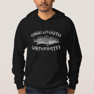 Smallmouth University - Bass Fishing Hoodie