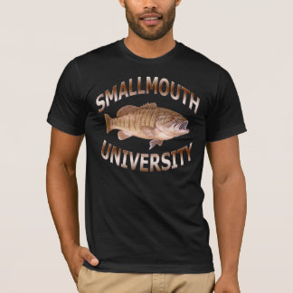 Smallmouth University - Bass Fishing T-Shirt