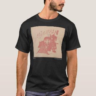 Smallpox print T-shirt, black T-Shirt