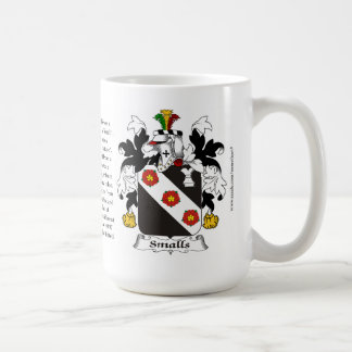 Smalls, the Origin, the Meaning and the Crest Coffee Mug