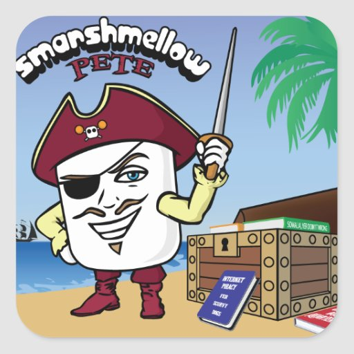 Smarshmellow Pete - Sticker