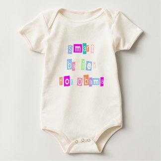 Smart Babies For Obama Baby Bodysuit