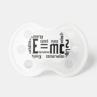 Smart Baby Binky Pacifier E=mc2