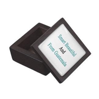 Smart Beautiful And From Guatemala Premium Jewelry Box