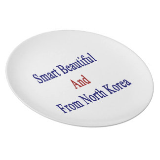 Smart Beautiful And From North Korea Dinner Plates