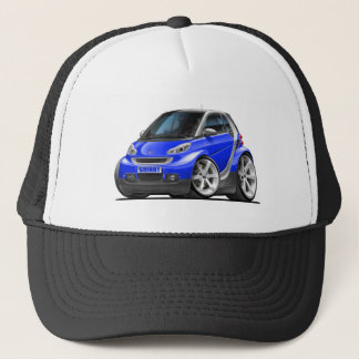 Smart Blue Car Trucker Hat