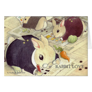 SMART BUNNIES by Kathy Borla... Card