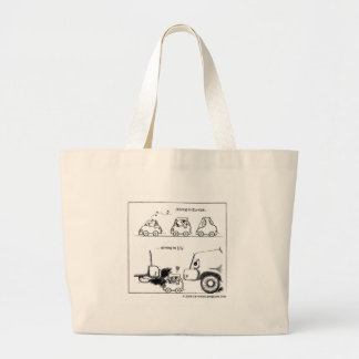 Smart Cars in U.S. Canvas Bags