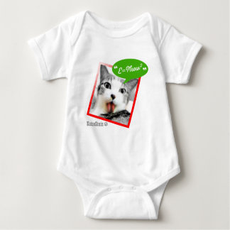 smart cat baby bodysuit