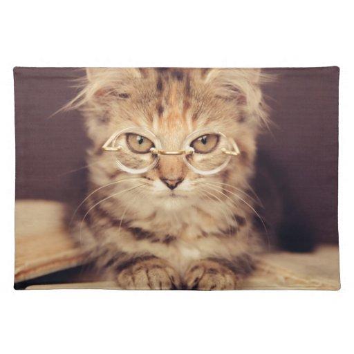 smart cat place mat