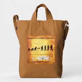Smart Caveman: Do Math and Advance Mankind Tote Ba Duck Bag