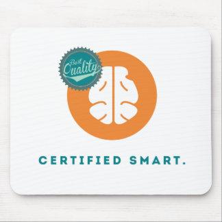Smart certificado mouse pad