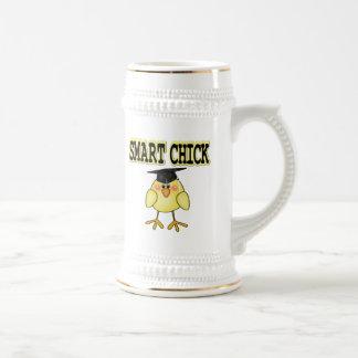 Smart Chick 18 Oz Beer Stein