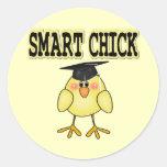 Smart Chick Stickers