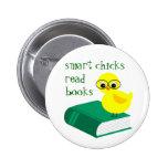 Smart Chicks Read Books Pins