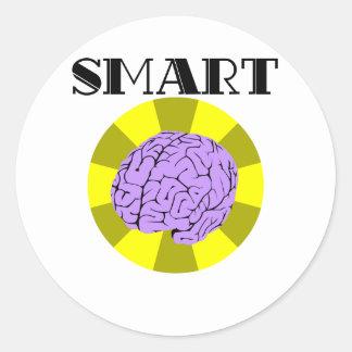 Smart Classic Round Sticker