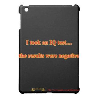 Smart clver brain brainy intelligent IQ test teach iPad Mini Covers