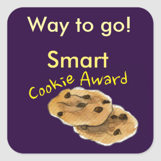 Smart Cookie Award Student Incentive Stickers