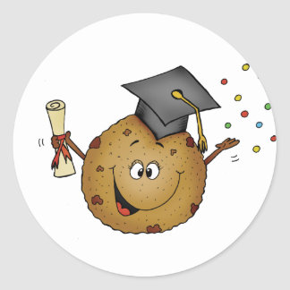 Smart Cookie Graduation Gift Classic Round Sticker