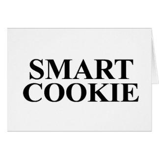 Smart Cookie Greeting Card