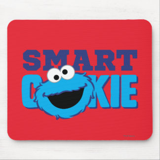 Smart Cookie Monster Mouse Pad