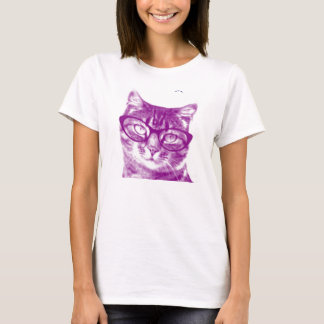 Smart Cute Cat T-Shirt