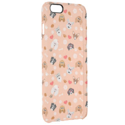Uncommon iPhone 6 Plus Clearly™ Deflector Case with Poodle Phone Cases design