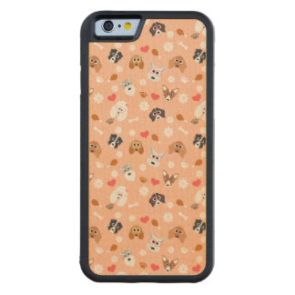 Smart Dogs Carved® Maple iPhone 6 Bumper Case