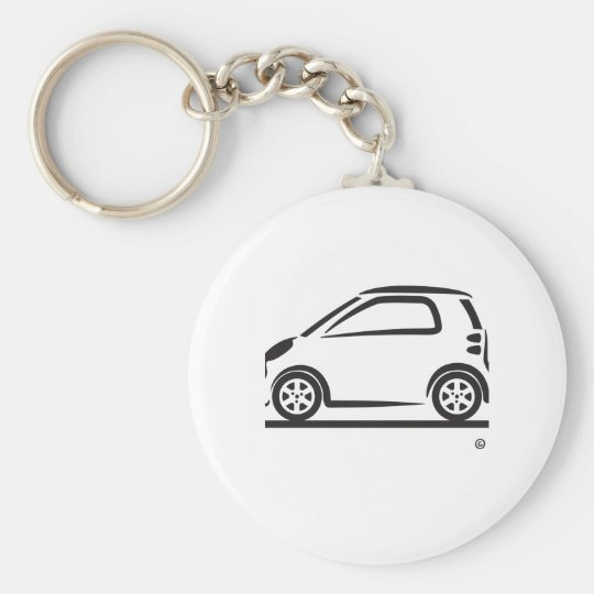 Smart Fortwo Side Keychain