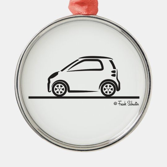 Smart Fortwo Side Metal Ornament