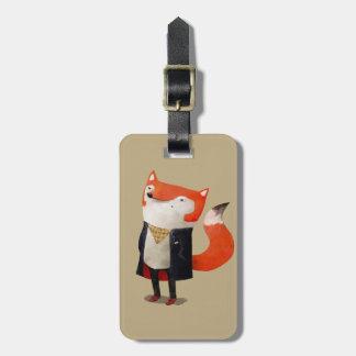 Smart Fox Bag Tag