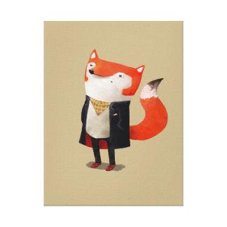 Smart Fox Gallery Wrap Canvas