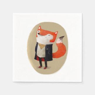 Smart Fox Paper Napkin