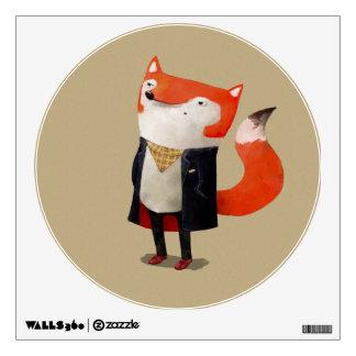 Smart Fox Room Stickers