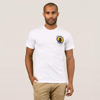 Smart Gear Math Caveman STEM Pocket Logo T-Shirt