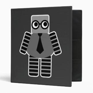 Smart Geek Robot 3 Ring Binder