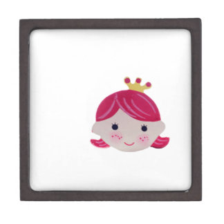smart girl cute smile kawai keepsake box