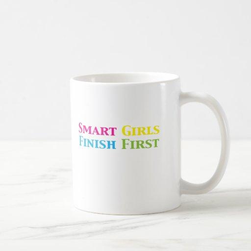 Smart Girls Finish First Gifts i Classic White Coffee Mug
