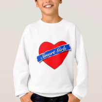 Smart Girls Heart Logo Sweatshirt