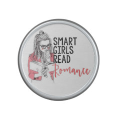 Smart Girls Read Romance Bumpster Speaker at Zazzle