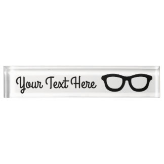 Smart Glasses Name Plate