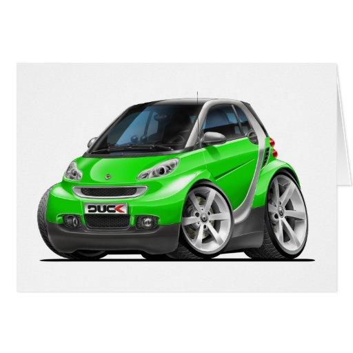 Smart Green Car Card