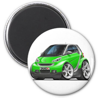 Smart Green Car Magnet