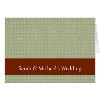Smart green flower with wavy petals on rough light greeting cards